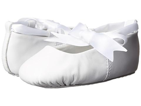 Baby Deer Sabrina Ballet (Toddler/Little Kid) - White Leather