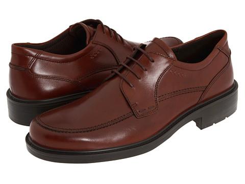 ECCO - Boston Apron Tie (Mink Full-Grain Leather) - Footwear