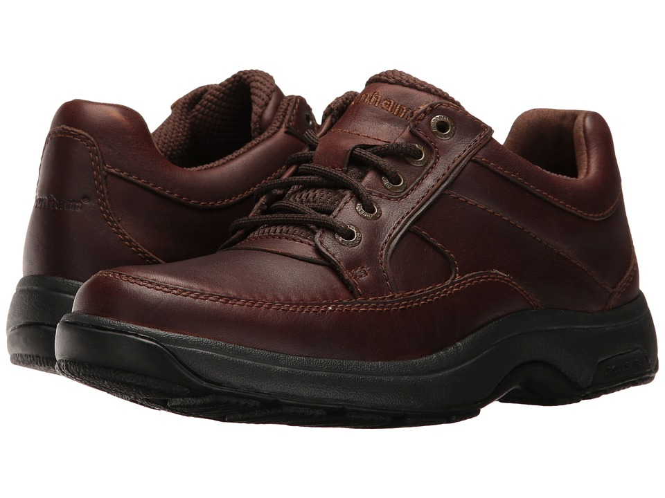 Dunham Midland Oxford Waterproof (Brown Polished Leather) Men