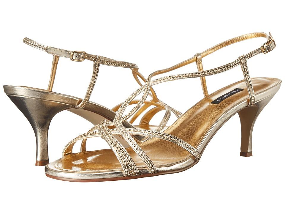 Caparros Pandora (Gold Metallic) Sandals