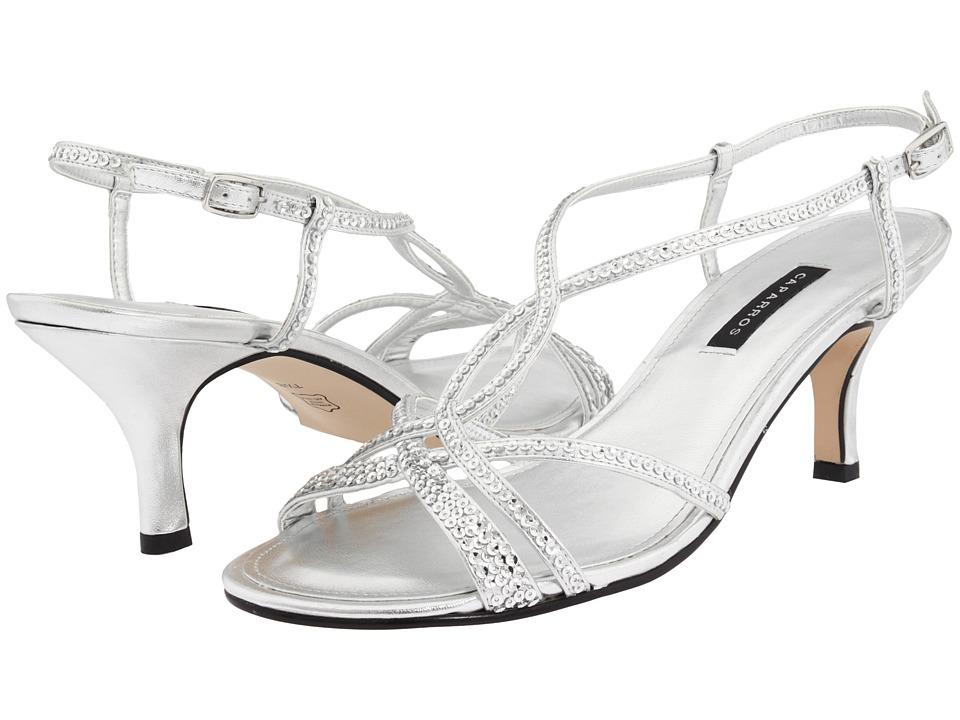 Caparros Pandora (Silver Metallic) Sandals