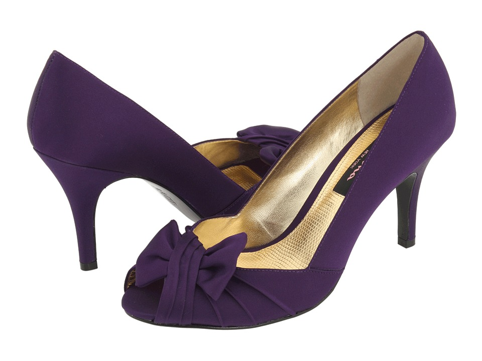 Nina - Forbes (Grape Luster Satin) Women
