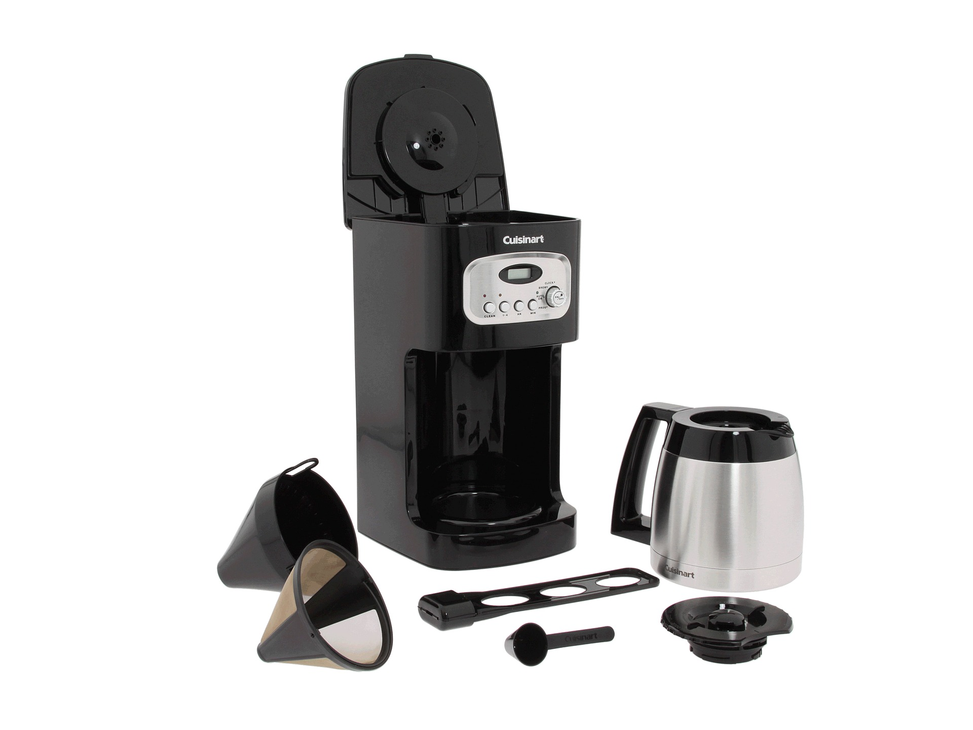Cuisinart Coffee Maker 10 Cup Thermal Programmable : Cuisinart Dcc 1150bk 10 Cup Programmable Thermal Coffee Maker Shipped Free at Zappos