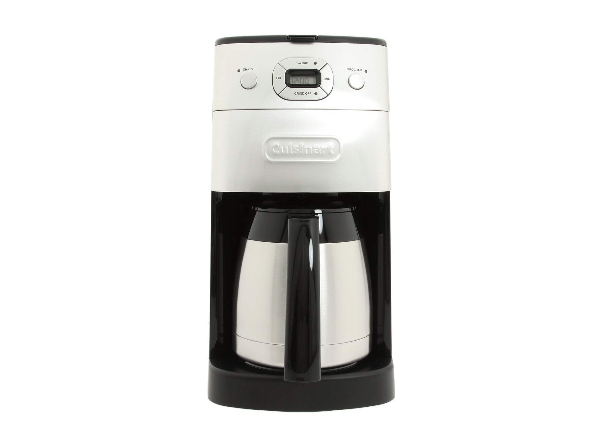 Cuisinart Coffee Maker With Grinder Leaking : Cuisinart Dgb 650bc Grind Brew Thermal 10 Cup Coffee Maker Shipped Free at Zappos