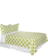 Blissliving Home - Kew Green King Comforter Cover/Duvet Set