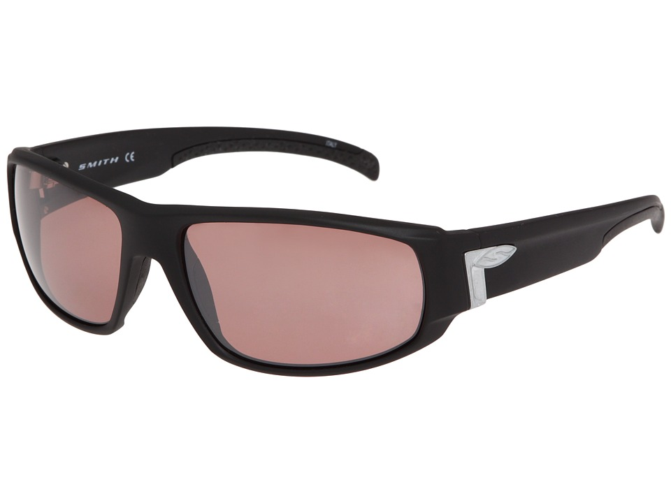 Smith Optics Tenet Polarchromic Matte Black Evolve/Polarchromic Ignitor Athletic Performance Sport Sunglasses