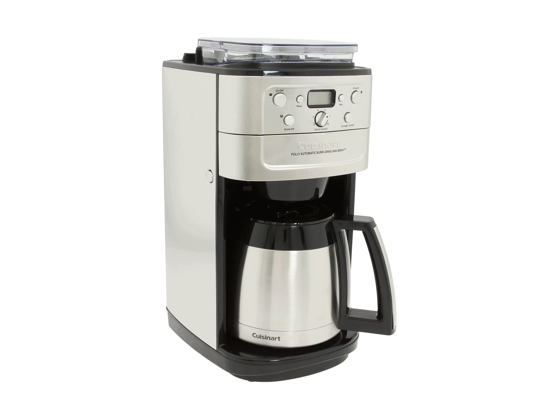 Cuisinart Coffee Maker With Grinder Leaking : Cuisinart Dgb 900bc Grind Brew Thermal 12 Cup Coffee Maker Shipped Free at Zappos