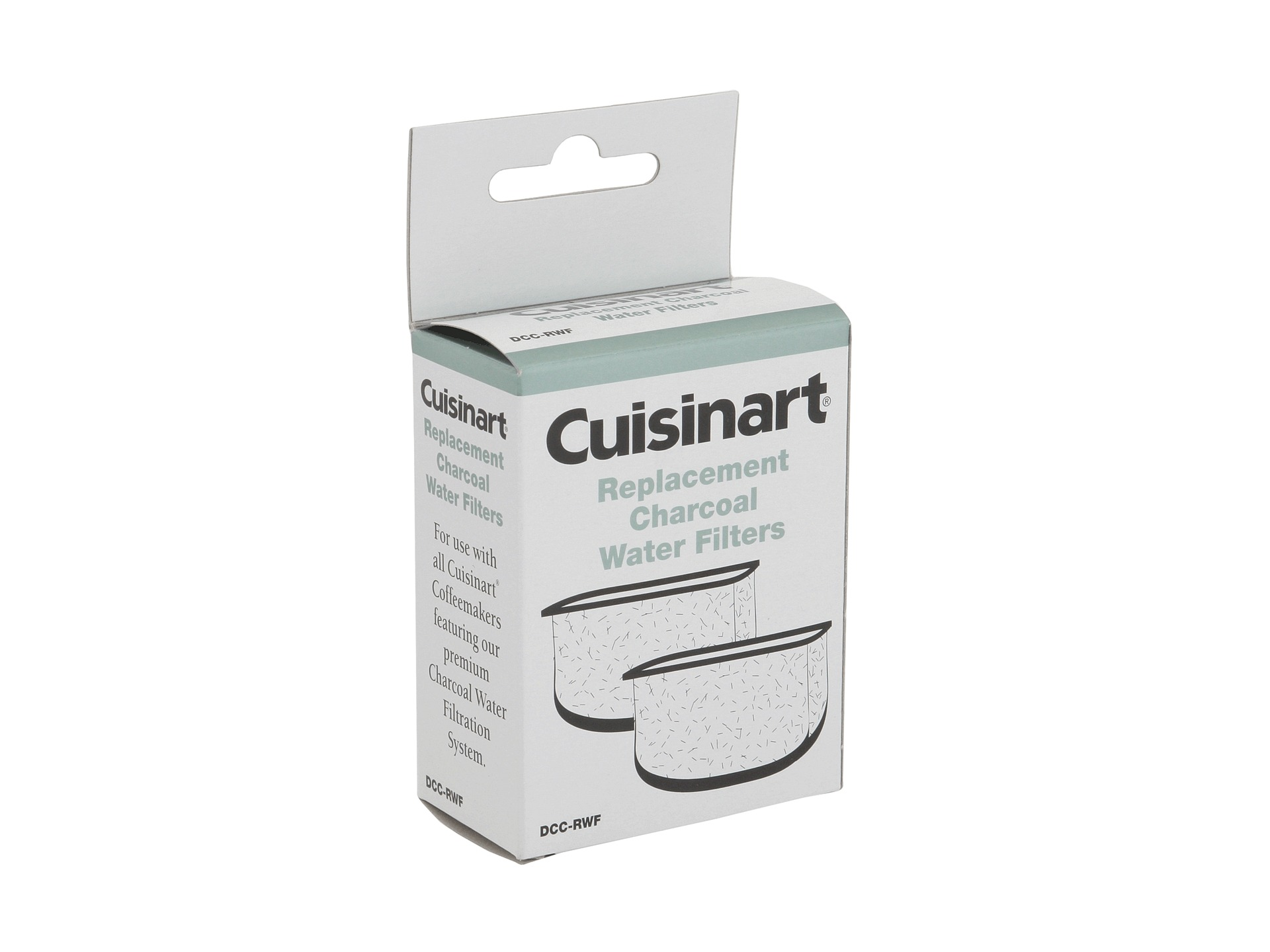 Cuisinart Coffee Maker Charcoal Filter : Cuisinart Dcc Rwf Replacement Coffee Maker Water Filters Shipped Free at Zappos