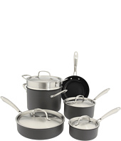Cuisinart - GreenGourmet™ Hard Anodized 10-Piece Cookware Set