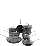 Cuisinart - Chef's Classic Non-Stick Hard Anodized 17-Piece Cookware Set