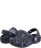Crocs Kids - Translucent Clog Dino Camo (Infant/Toddler/Youth)