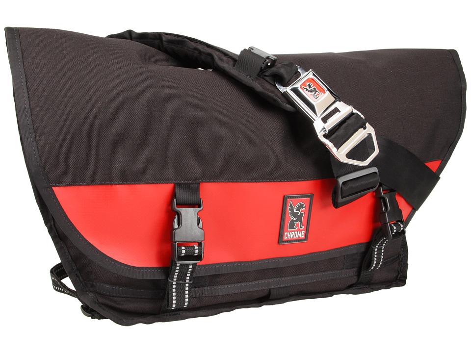 Chrome Citizen Messenger Black/Red Messenger Bags