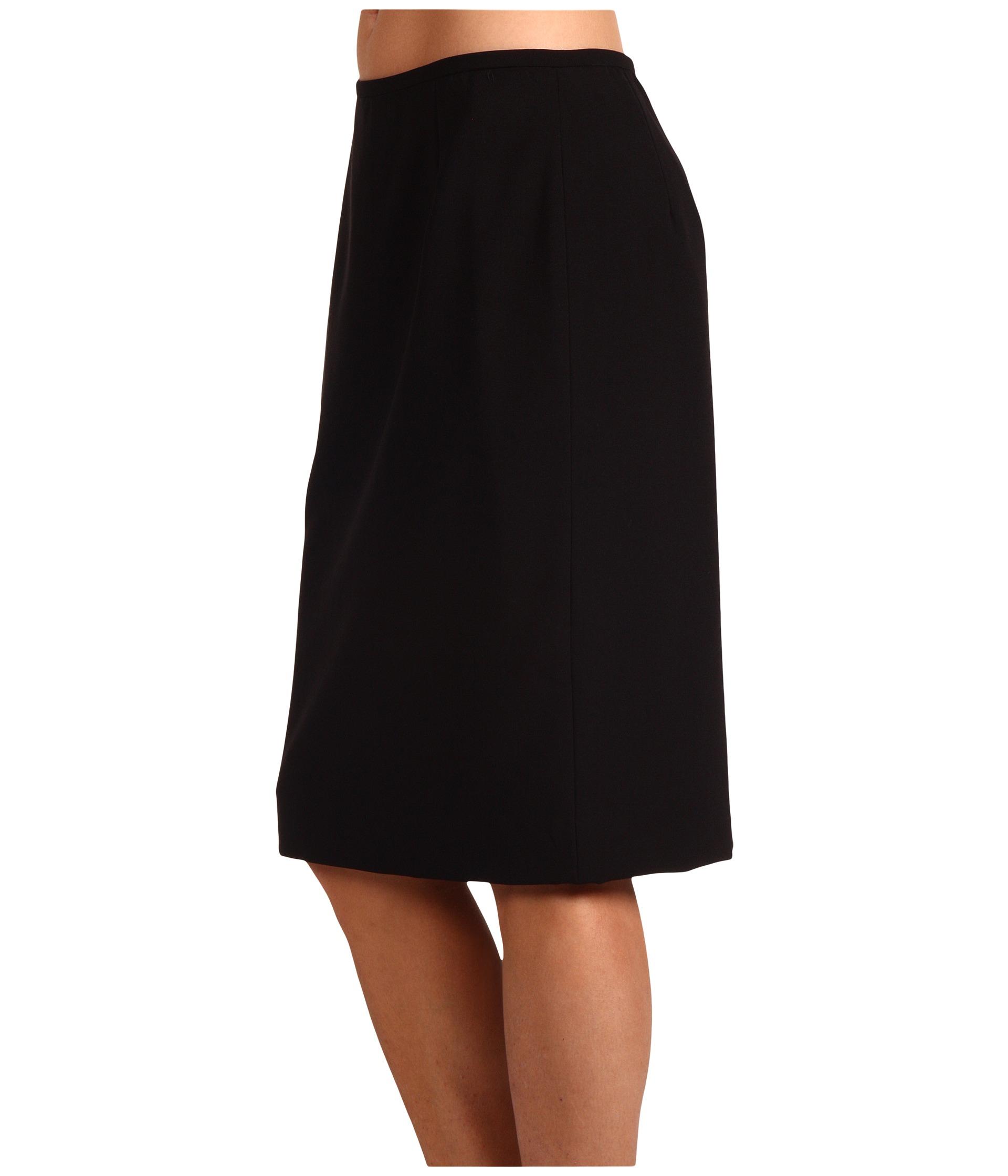 calvin klein pencil skirt black zappos free shipping