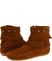 Minnetonka - Double Fringe Side Zip Boot