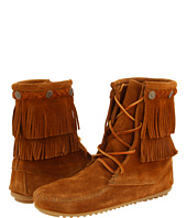 Minnetonka - Double Fringe Front Lace Boot