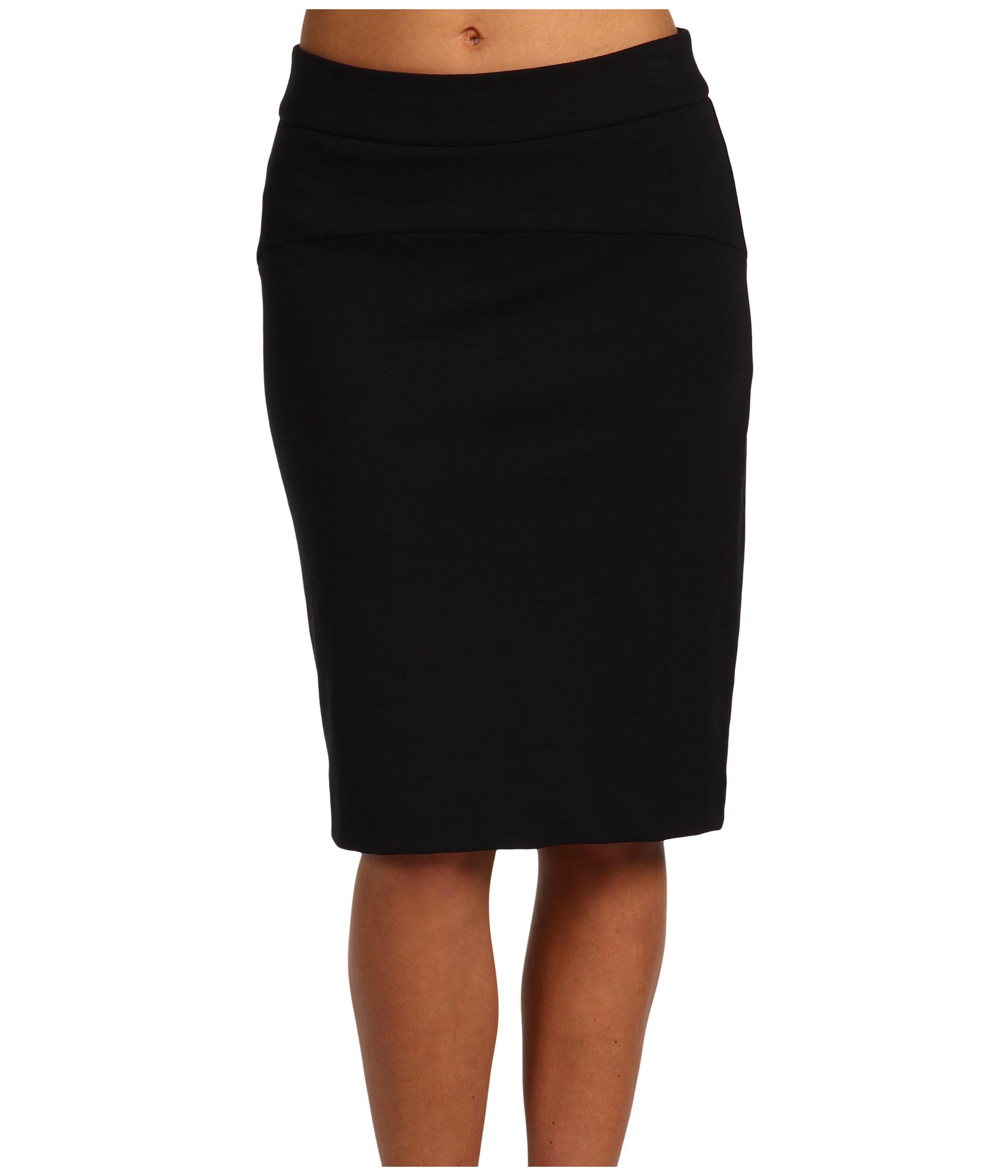 Sale Discount Michael Michael Kors Ponte Pencil Skirt Black