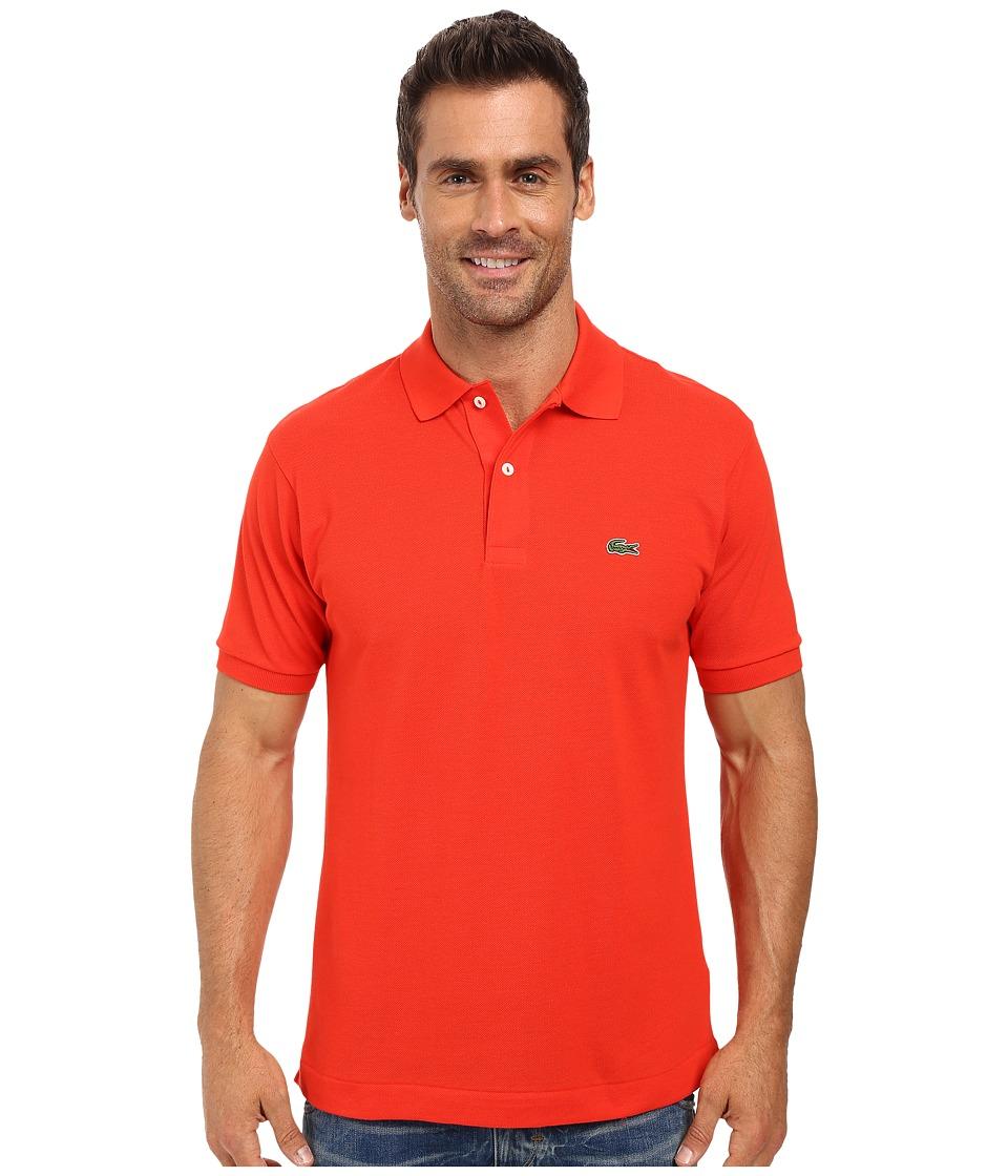 Lacoste - L1212 Classic Pique Polo Shirt (Redcurrant Bush) Men