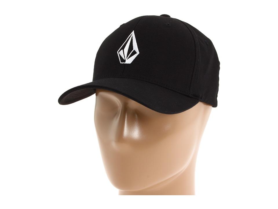 Volcom - Full Stone X-Fittm FlexFit(r) (Black) Baseball Caps