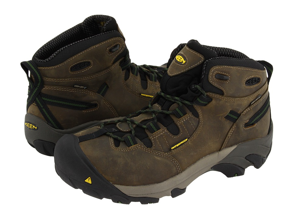 Keen Utility - Detroit Mid (Brindle/Bronze Green) Men's W...