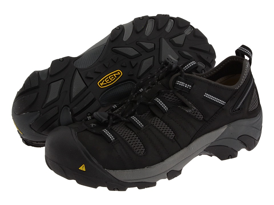 Keen Utility - Atlanta Cool (Black/Dark Shadow) Mens Industrial Shoes
