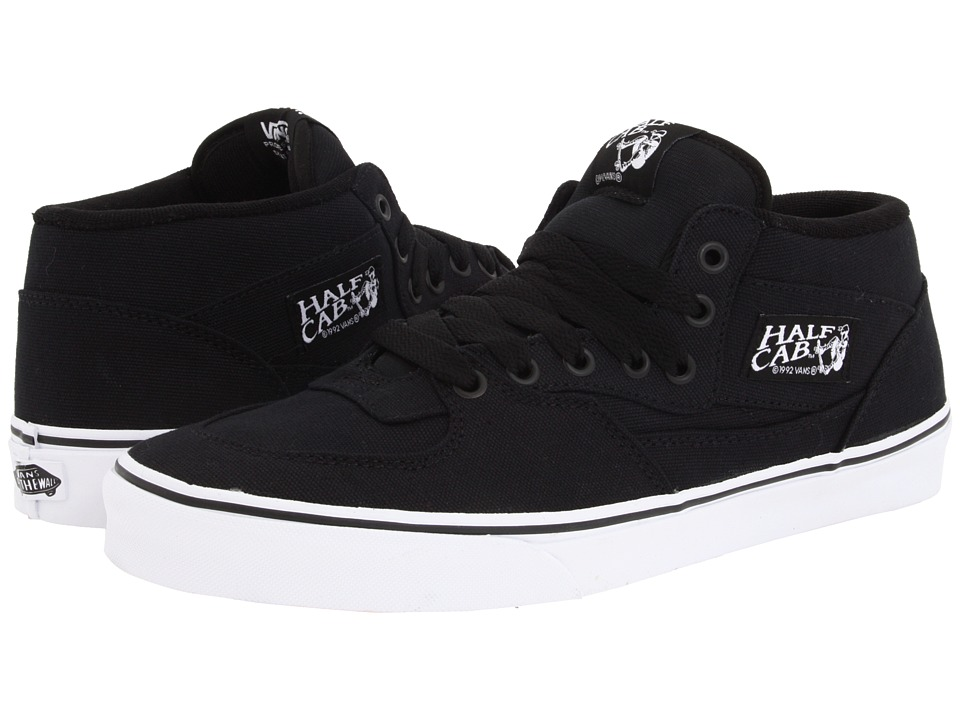 all black vans half cab toddler