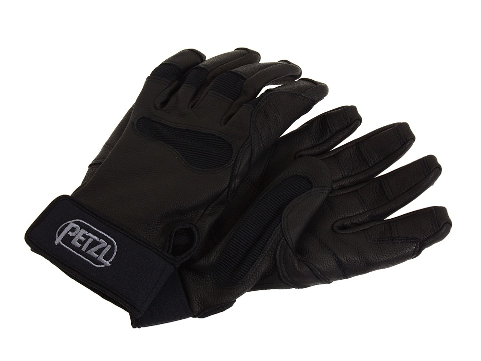 Petzl - CORDEX+ Belay/Rap Glove (Black) Outdoor Sports Equipment