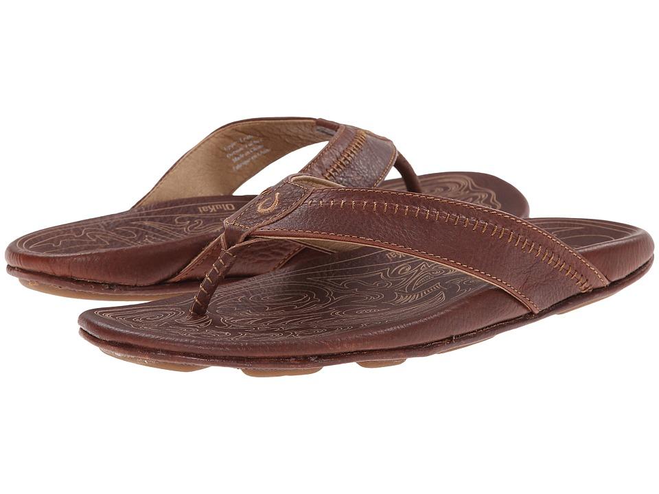 OluKai - Hiapo (Teak/Teak) Mens Sandals