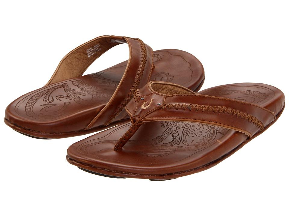 OluKai Mea Ola (Ginger/Ginger) Men's Sandals