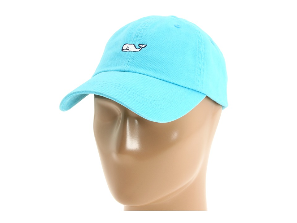 Vineyard Vines - Whale Logo Baseball Hat (Aqua Blue) Caps