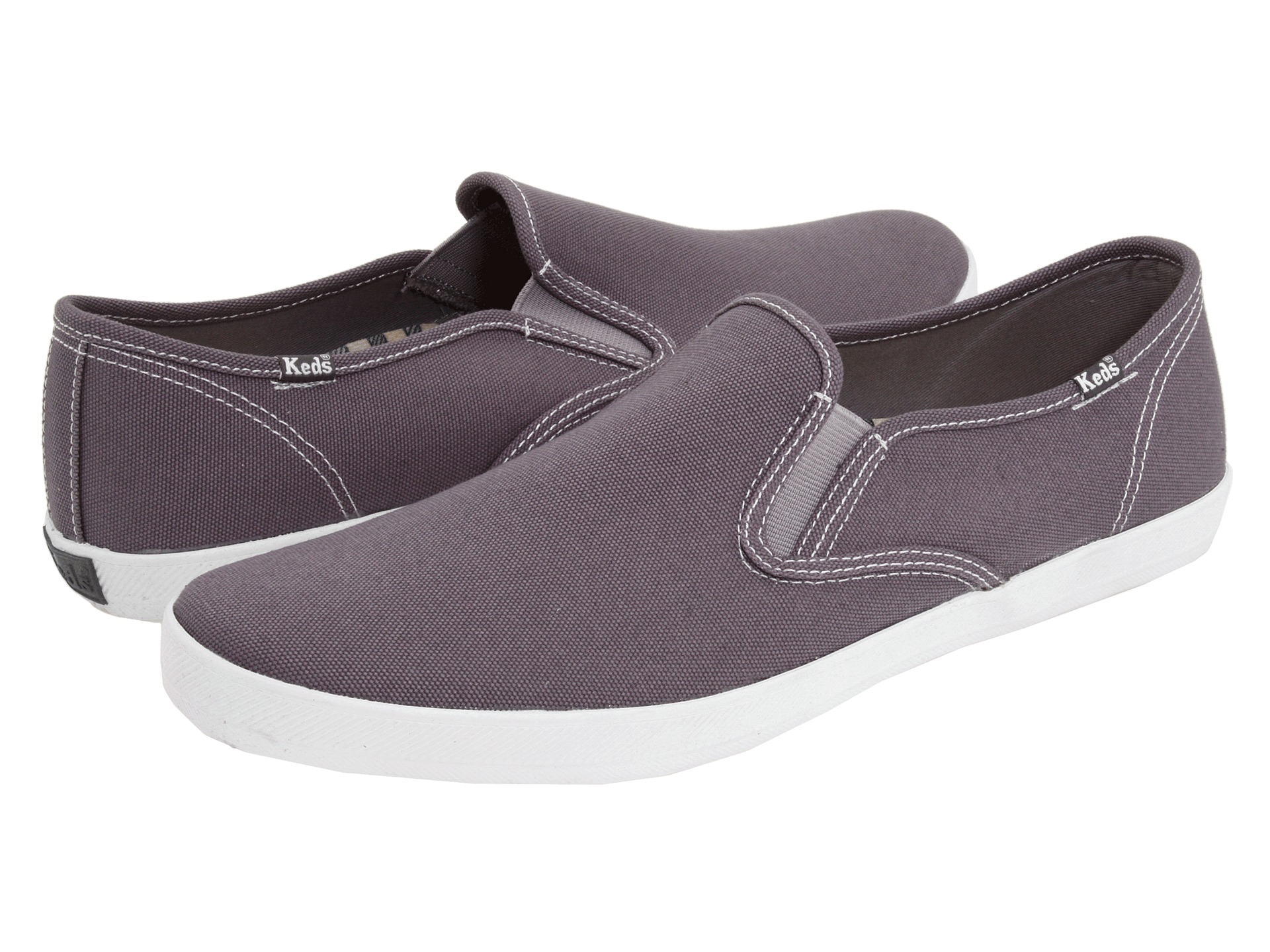 keds champion slip on fabric sneaker