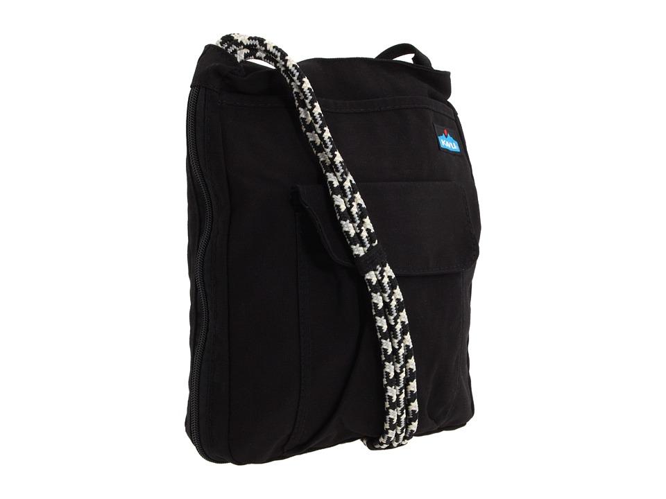 KAVU - Sidewinder (Black) Cross Body Handbags