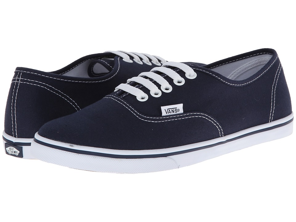 Vans Authentic Lo Pro (Navy/True White) Skate Shoes