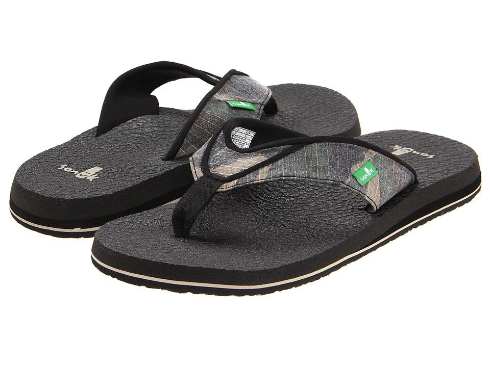Sanuk Beer Cozy (Camo) Men's Sandals