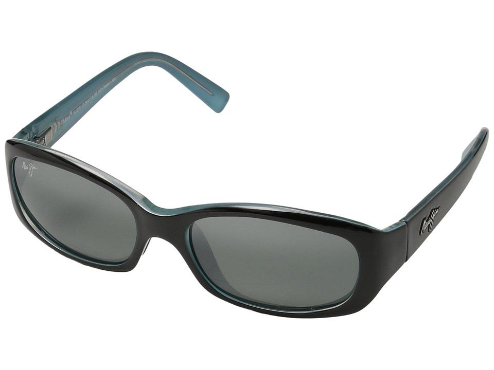 Maui Jim Punchbowl (Black/Blue/Neutral Grey Lens) Sport Sunglasses