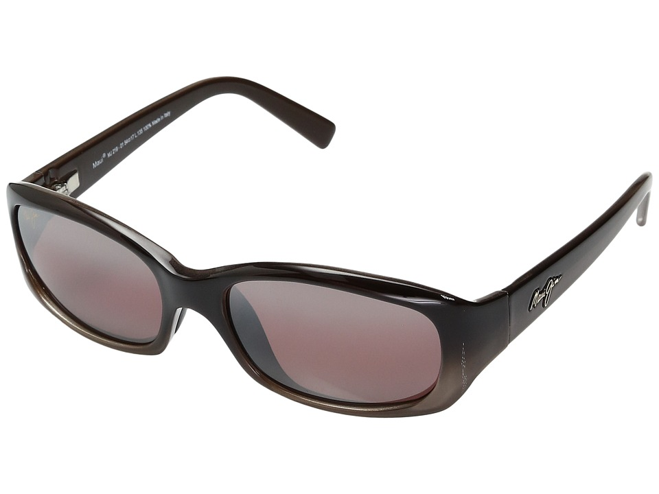 Maui Jim - Punchbowl (Chocolate Fade/Maui Rose Lens) Sport Sunglasses