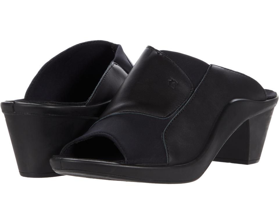 Romika Mokassetta 244 (Diamante Plissee Black) High Heel Shoes