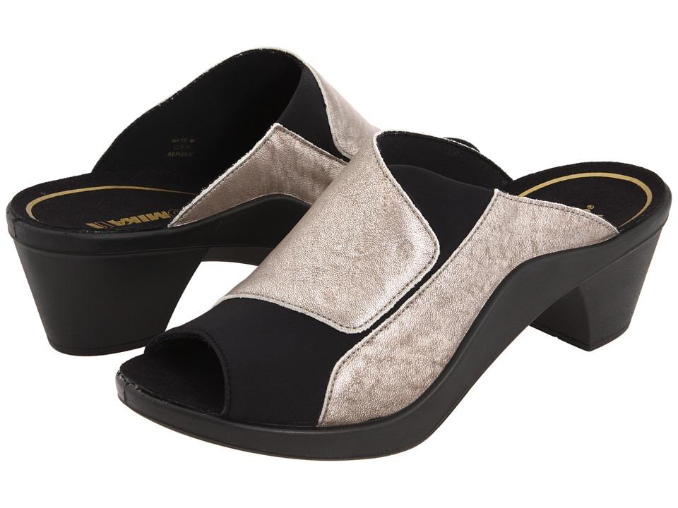 Romika Mokassetta 244 (Metallic Platinum) High Heel Shoes