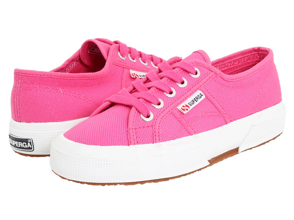 Superga Kids - 2750 JCOT Classic (Toddler/Little Kid) (Fuxia SP 11) Girls Shoes
