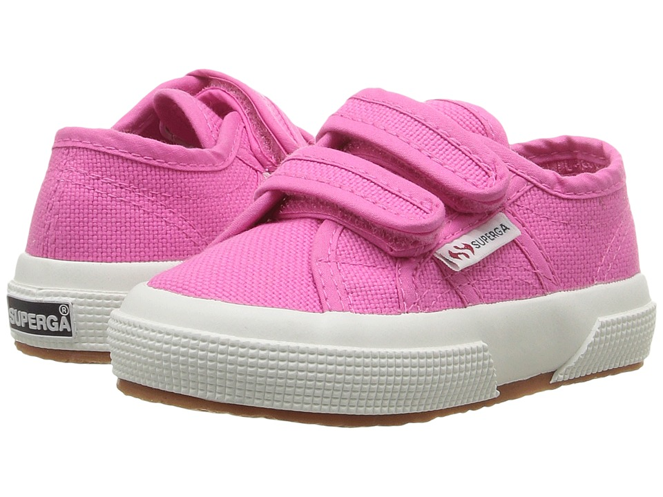 Superga Kids - 2750 JVEL Classic (Toddler/Little Kid) (Fuxia) Girls Shoes