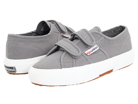 Superga Kids 2750 JVEL Classic (Toddler/Little Kid) - Grey Sage