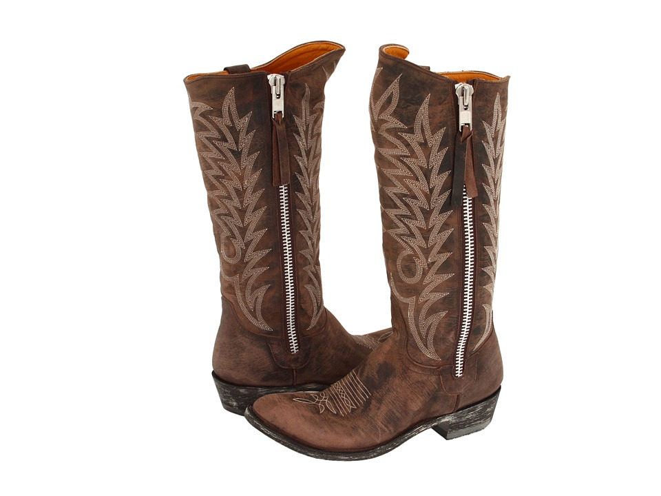 Old Gringo Razz (Brown) Cowboy Boots