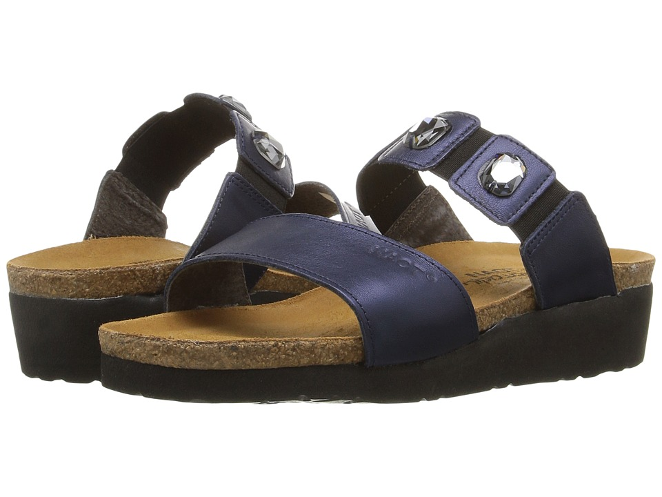 Naot - Michele (Polar Sea Leather) Womens Sandals