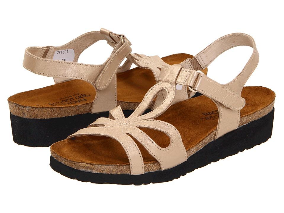 Naot Footwear Rachel (Champagne Leather) Women