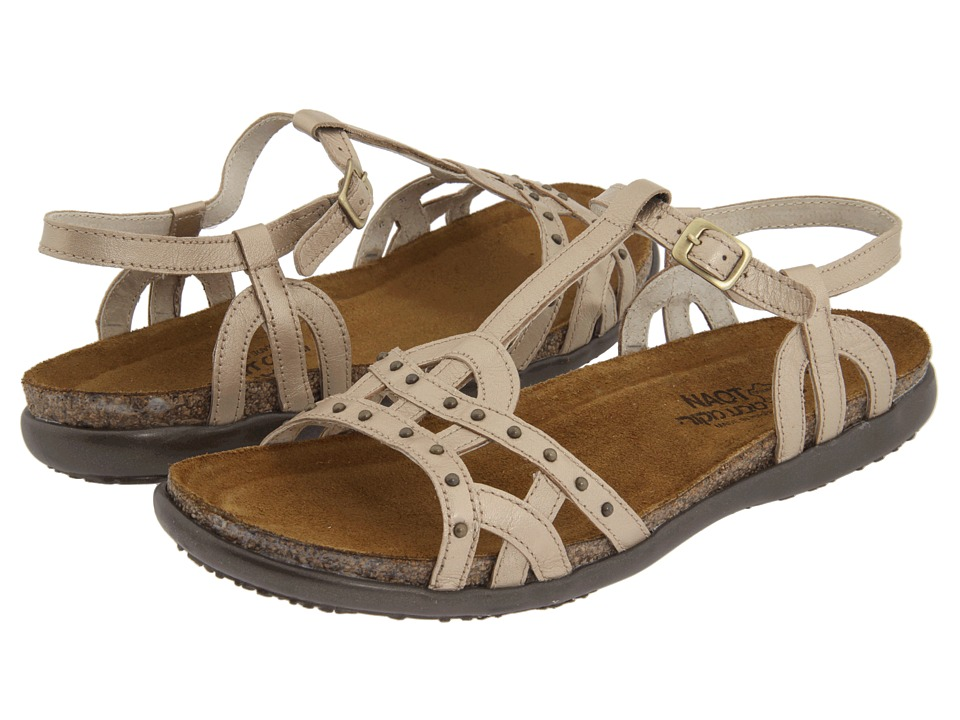 Naot Footwear Elinor (Champagne Leather) Sandals