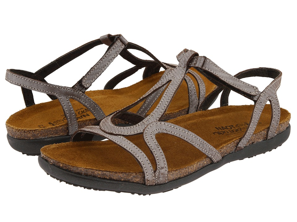 Naot Dorith (Silver Threads Leather) Sandals