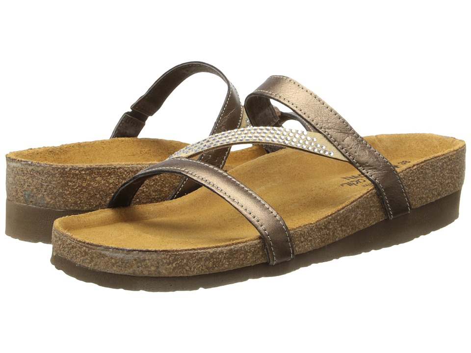Naot Footwear Hawaii (Grecian Gold Leather) Sandals