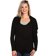 Pure & Simple - 3/4 Sleeve Wrap Around Shrug