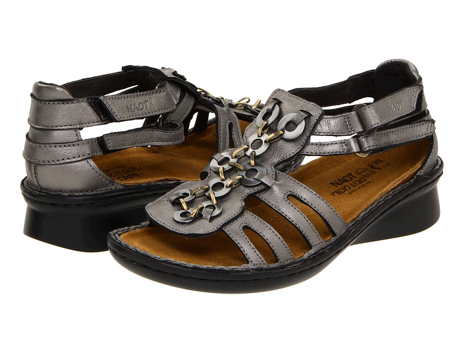 Naot Footwear Trovador (Sterling Leather) Sandals