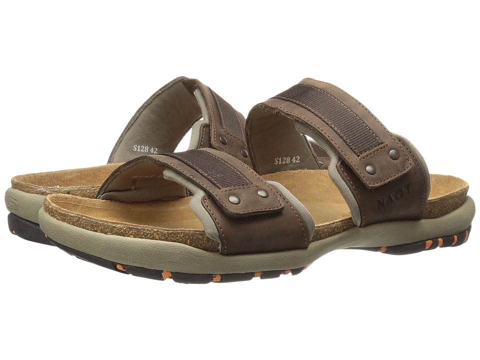 Naot - Climb (Bison Leather) Men's Sandals