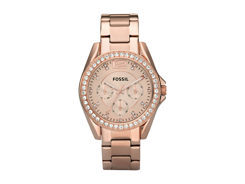 Fossil - Riley Multifunction - ES2811 (Rose Gold) Watches